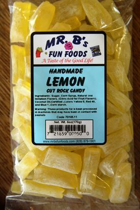 Picture of Lemon Rock Candy