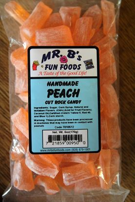 Picture of Peach Rock Candy