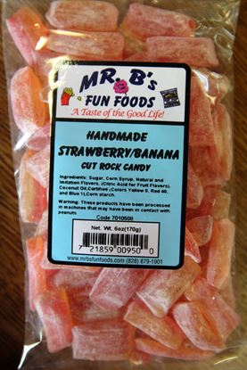 Picture of Strawberry/Banana Rock Candy