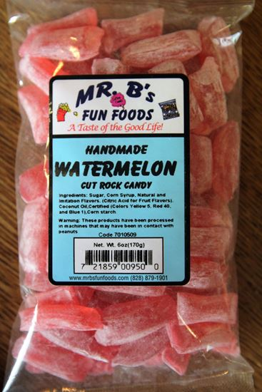 Picture of Watermelon Rock Candy