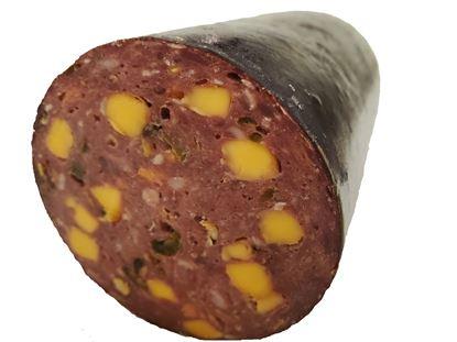 Picture of Jalapeno Cheddar Venison Summer Sausage